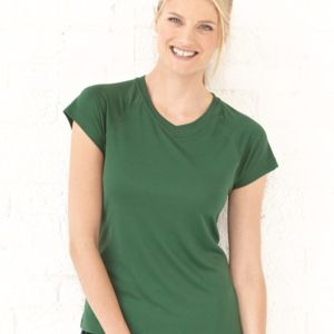 Double Dry Women's V-Neck Performance T-Shirt Thumbnail
