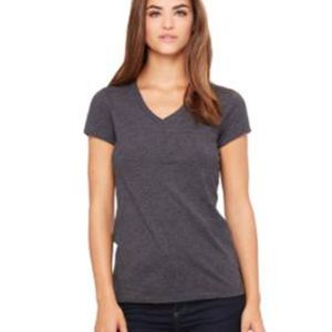 Women's Short Sleeve Jersey V-Neck Tee Thumbnail