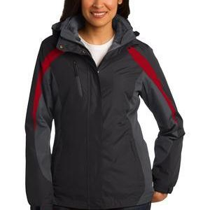 Ladies Colorblock 3 in 1 Jacket Thumbnail