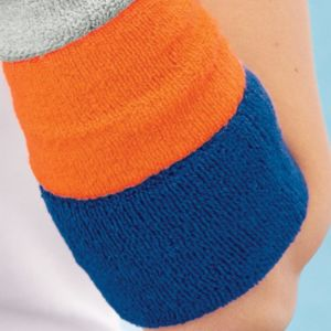 Extra Wide Terry Cloth Wristband (Single) Thumbnail
