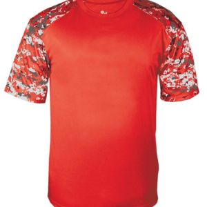 Digital Camo Youth Sport T-Shirt Thumbnail