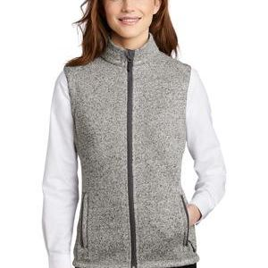® Ladies Sweater Fleece Vest Thumbnail