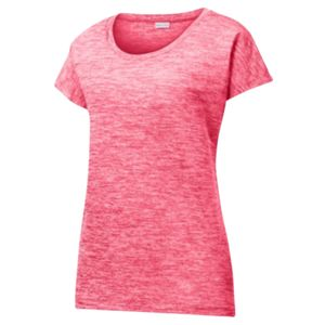 Sport-Tek® Ladies PosiCharge® Electric Heather Sporty Tee Thumbnail